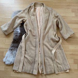 Jackets & Blazers - Vintage Camel Cashmere Coat